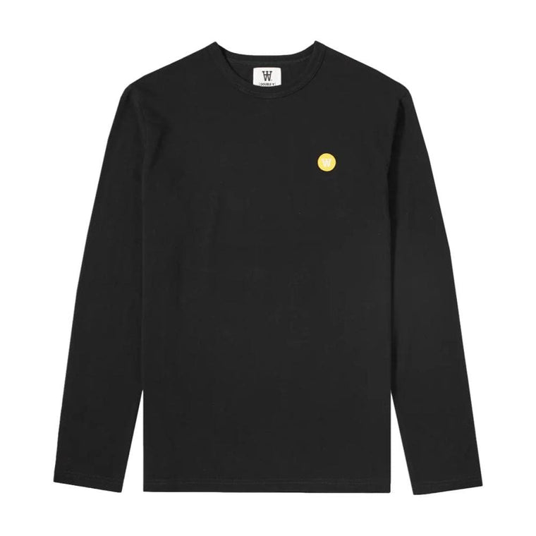 WOOD WOOD MEL LONG SLEEVE-BLACK