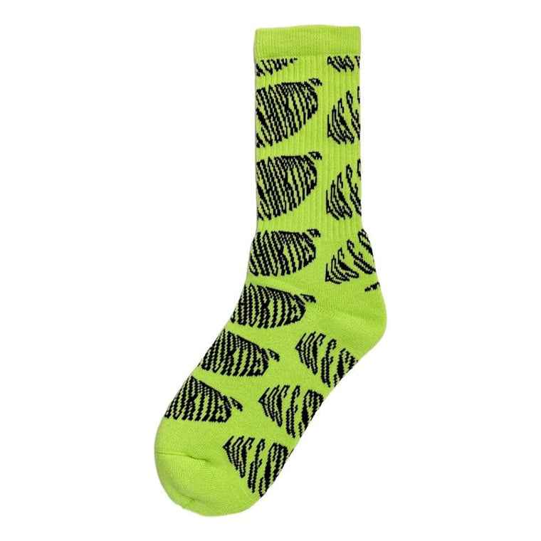 40'S AND SHORTIES WORKING TITLE SOCKS -GREEN