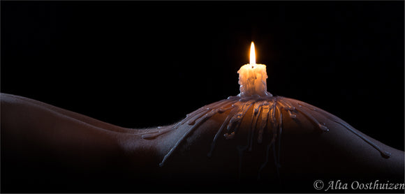 Fifty shades of candle light - Fine art