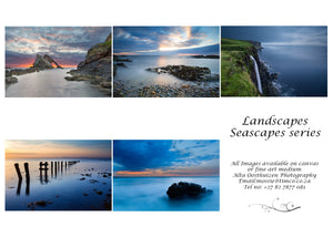 Printed Cards - Seascapes