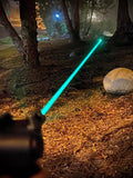 Overlord Tactical Belleau Wood Green Laser Sight: featuring a Class 3A green laser, highly visible in all lighting conditions. Ambidextrous controls. Lightweight (1.1oz) and shockproof construction. Compatible with lower picatinny, mil-std or weaver rail. Batteries (CR 1/3N x3) and zeroing tools included.