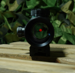 Overlord Tactical Mogadishu Mile Red Dot; Red & Green Reticles; Fits Picatinny, Mil-std and Weaver Rail