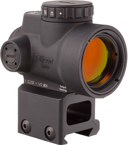 Trijicon Mro 1x25 Adj Red Dot - Sight 2.0 Moa Lower 1-3 Mount