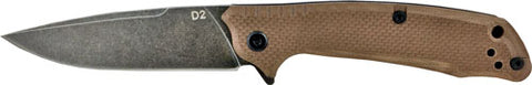 "Abkt Elite Desert Scavenger Bl - Bearing Folder 3.5"" D2 Steel"