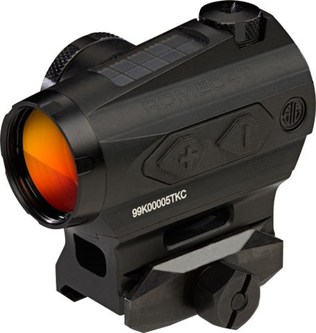 Sig Optics Red Dot Romeo 4t - 2 Moa Circle Dot Solar Black