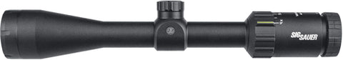 Sig Optics Scope Whiskey3  4-12x40 Illuminated Quadplex Black