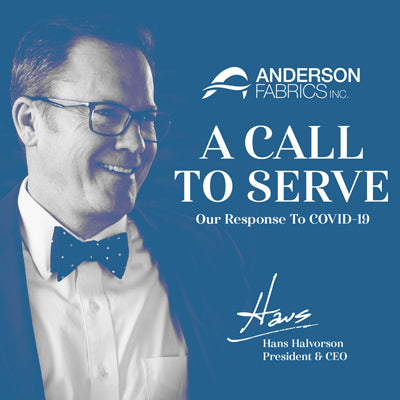A Call to Serve by President and CEO of Anderson Fabrics