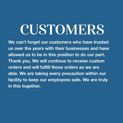 Response from Anderson Fabrics for our designer customers.