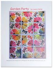 Load image into Gallery viewer, Garden Party Quilt Pattern by Laura Heine