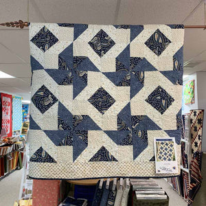 Finished Windmills Quilt - Fabric May Be Different From Actual Product