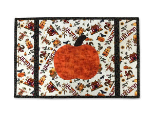 Autumn or Fall Holiday Placemat Set of four with Pumpkin design