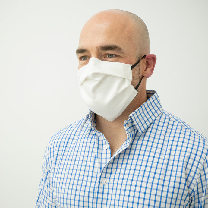 Cotton blend protective masks to help aid against COVID-19 virus