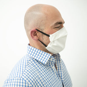 Masks to provide coverage to slow spread of virus by containing infectious particles.