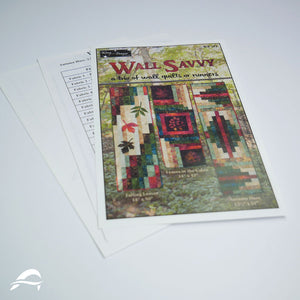 Wall Savvy Quilt Pattern - Trio of Wall Quilts or Runners - Wing and a Prayer Design