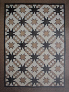 Quilt Pattern Starlight Waltz by Cotton Tales Designs