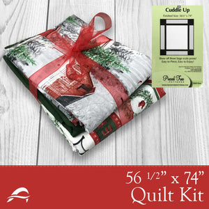 Christmas Quilt Kit Winter Barn Design