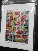Load image into Gallery viewer, Garden Party Quilt Pattern