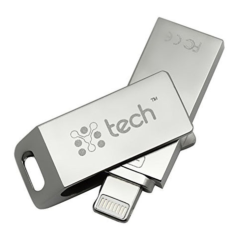 Y-tech Flash Drive 3 in 1- 32Gb- IPhone Flash Drive- IOS Flash Drive- Samsung Flash Drive for Android- Flash Drive IPhone- IPad Flash Drive- Memory Stick With Extended Lightning Connector- Micro USB