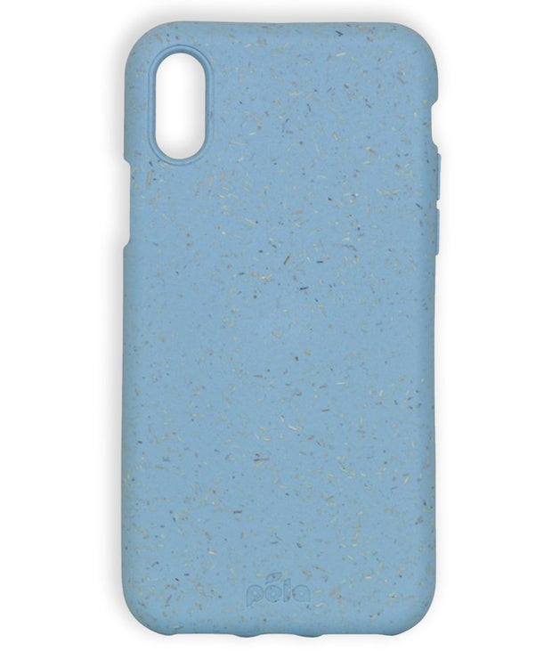 Sky Blue Eco-Friendly Pela Case - iPhone XS