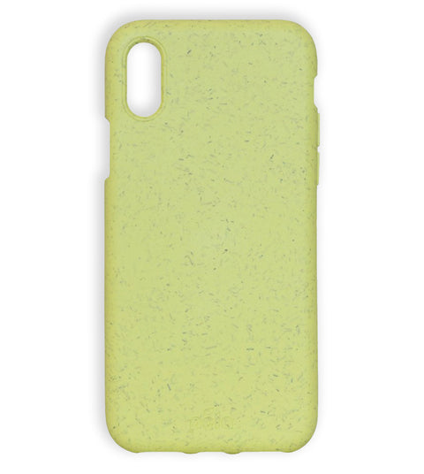 Sunshine Yellow Eco-Friendly Pela Case - iPhone XS