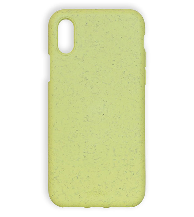 Sunshine Yellow Eco-Friendly Pela Case - iPhone X
