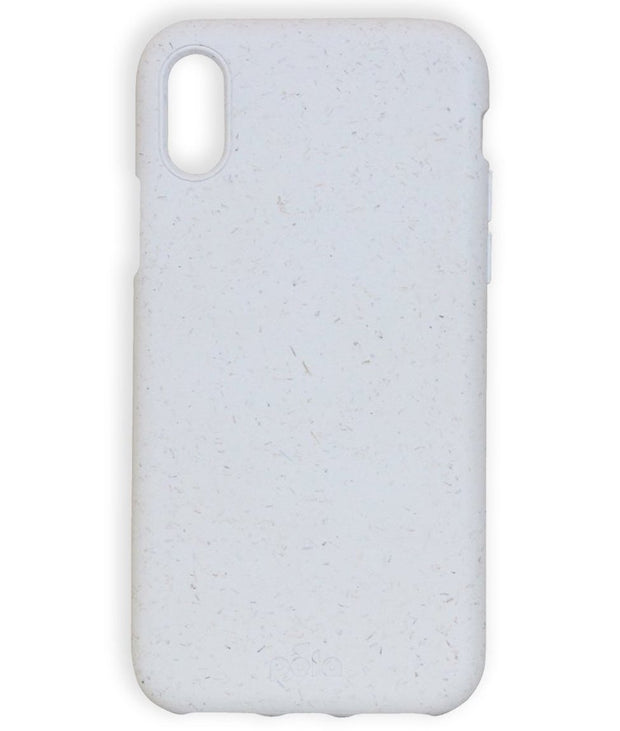 White Eco-Friendly Pela Case - iPhone XR