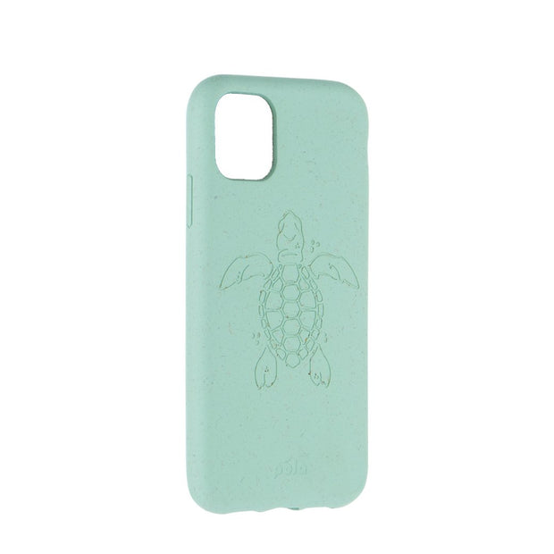 Ocean Turquoise (Turtle Edition) Eco-Friendly Pela Case - iPhone 11