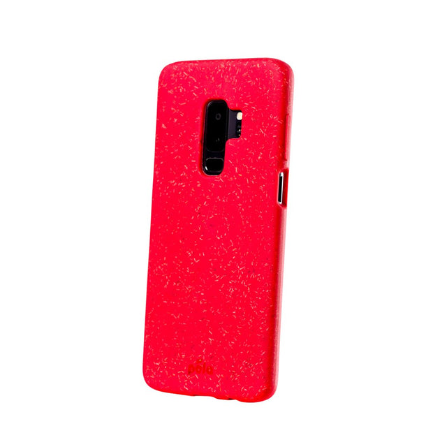 Red Eco-Friendly Pela Case - Samsung Galaxy S9 +