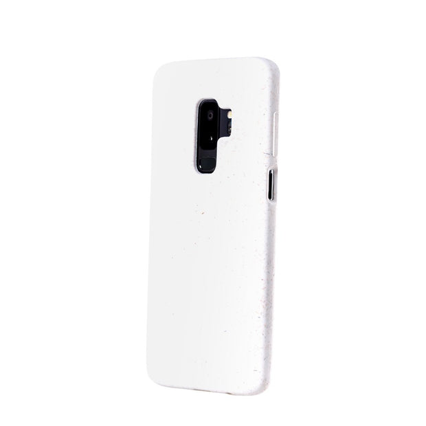 White Eco-Friendly Pela Case - Samsung Galaxy S9 +