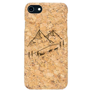 northones cork case Iphone 7/8 dog sled