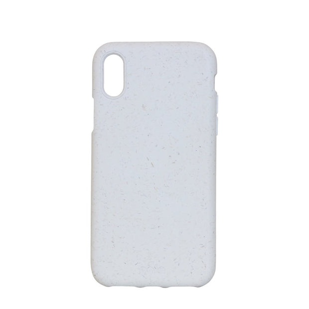 White Eco-Friendly Pela Case - iPhone XS Max