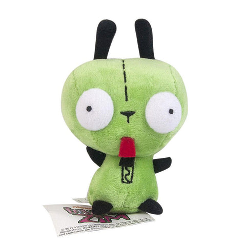 20cm Invader ZIM Gir Cartoon Figure Plush Doll Soft Stuffed Toys Children Gift Toys Plush Toys