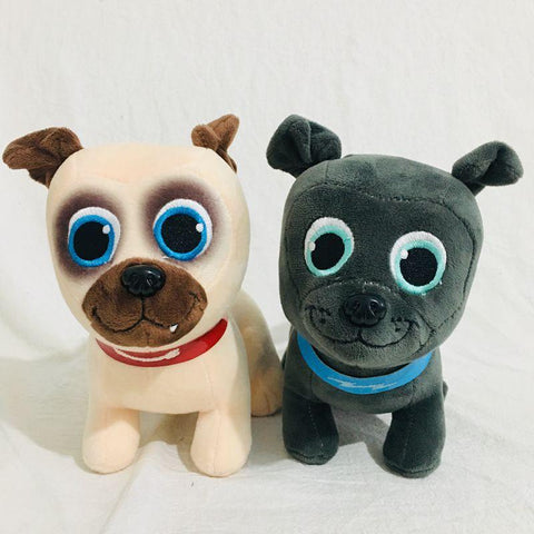 20cm Puppy Dog Pals Cartoon Figure Plush Doll Soft Stuffed Toys Children Gift Toys Plush Toys