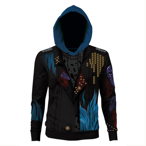 Unisex Hades Hoodies Descendants 3 Pullover 3D Print Jacket Sweatshirt