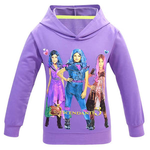 Kids Girls Hoodies Descendants 3 Pullover 3D Print Jacket Sweatshirt