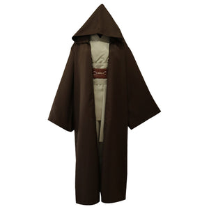 Men Robe Costume Adult Hooded Star Wars Robe Cloak Darth Vader Fancy Robe Cosplay Costume