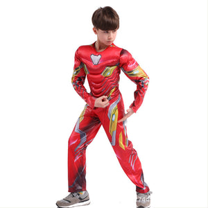 The Avengers Endgame Ironman Deluxe Muscle Chest Child Costume
