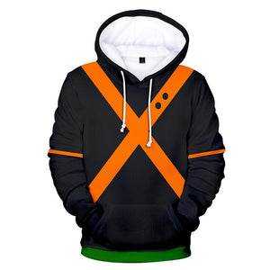 Boku No Hero Academia My Hero Academia Katsuki Bakugo Hoodies Cosplay Costume Training Jacket