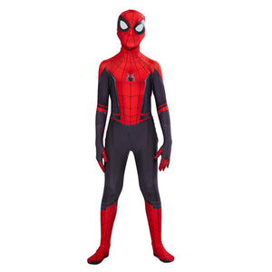 Kids Spider-man: Far From Home Jumpsuit Zentai Bodysuit Spider-man Tights Costume
