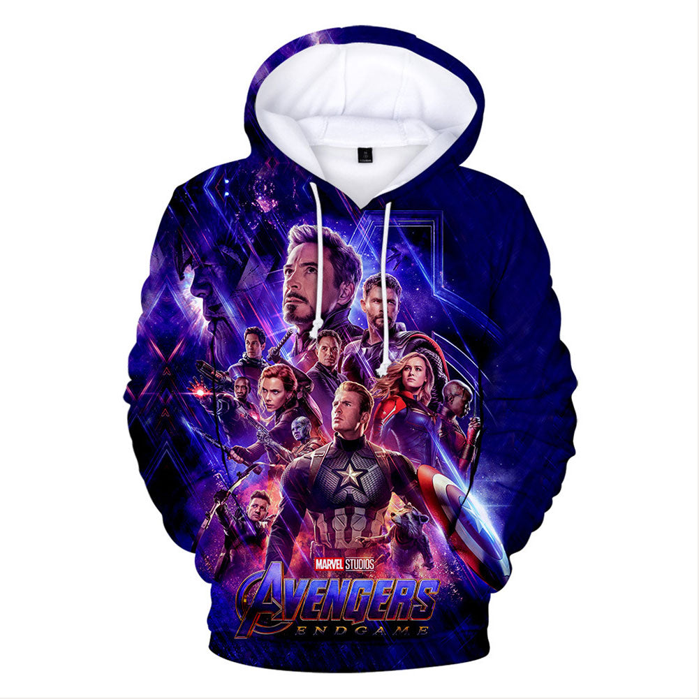 The Avengers 4 Endgame Commemorate Hoodie