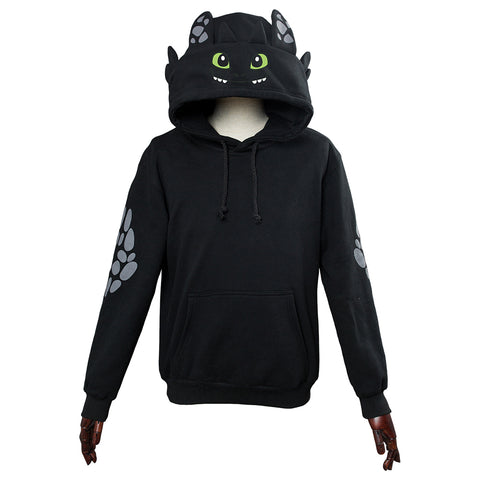 Unisex How to Train Your Dragon Toothless Cosplay Hoodie 3D Printed Sweatshirt Men Women Casual Pullover Streetwear