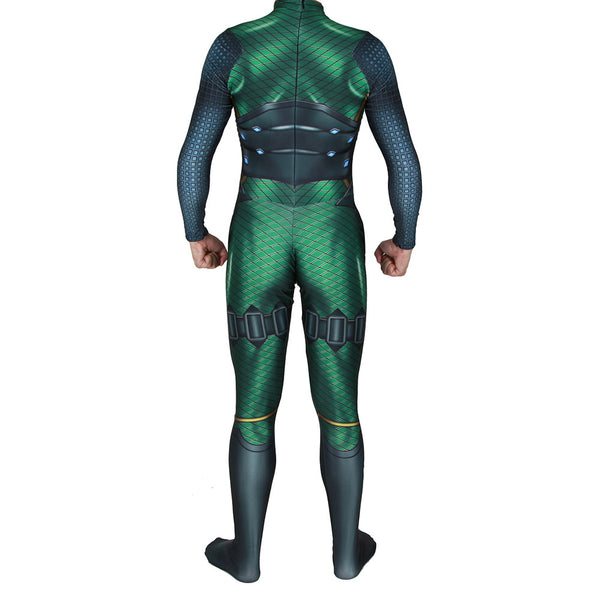Men Halloween Spider-Man Far From Home Mysterio Jumpsuit Bodysuit Cosplay Costume