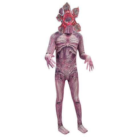 Kids Stranger Things Season 3 Demogorgon Halloween Cosplay Costume Dress Up Party Jumpsuit