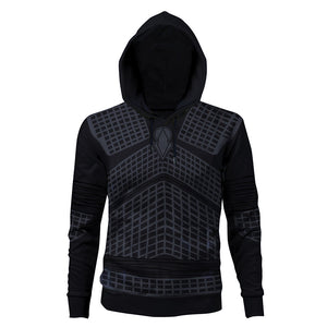 Game of Thrones Night's King Hoodie 3D Printed Sweatshirt Zip-up Coat Jacket Cosplay Costume