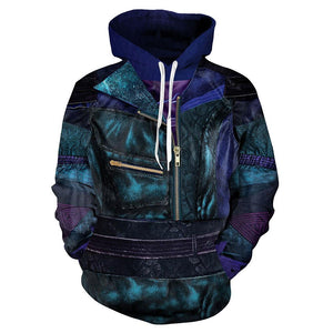 Unisex Mal Hoodies Descendants 3 Pullover 3D Print Jacket Sweatshirt