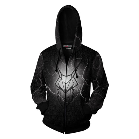 Game of Thrones Targaryen Hoodie 3D Printed Sweatshirt Zip Up Cosplay Costume