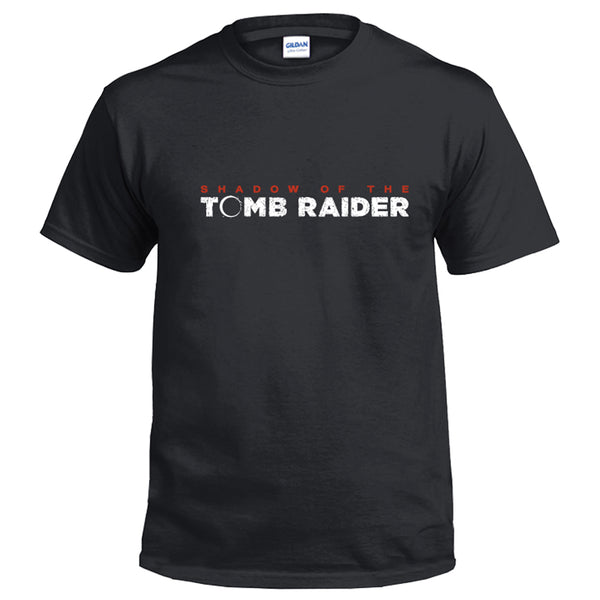 Tomb Raider: Shadow Logo Men's Short Sleeve Shirts T Shirts Tees