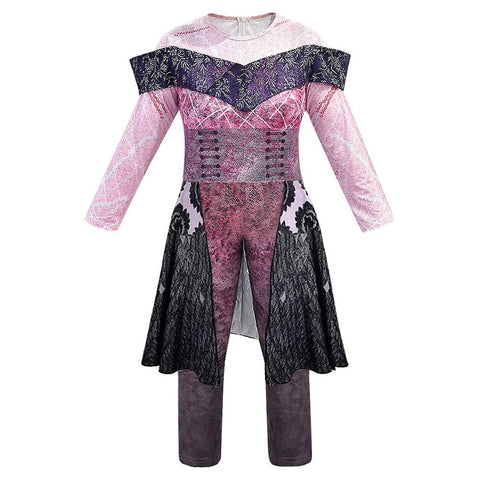 Adult Women Halloween Costume Descendants 3 Evil Audrey Cosplay Jumpsuit