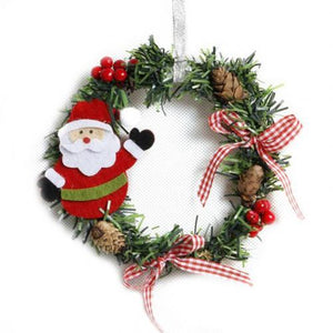 Christmas Wreath Party Pine Wreath Home Decoration Accessories Door Wall Garland Decoration