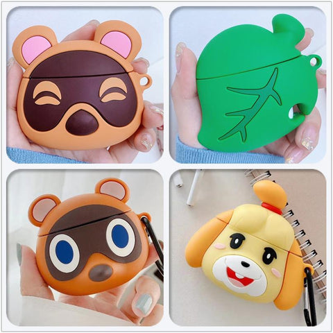 Animal Crossing Cartoon Cases for Airpods 1/2/Pro Cute Silicone Protection AirPods Cover Earphone Accessories